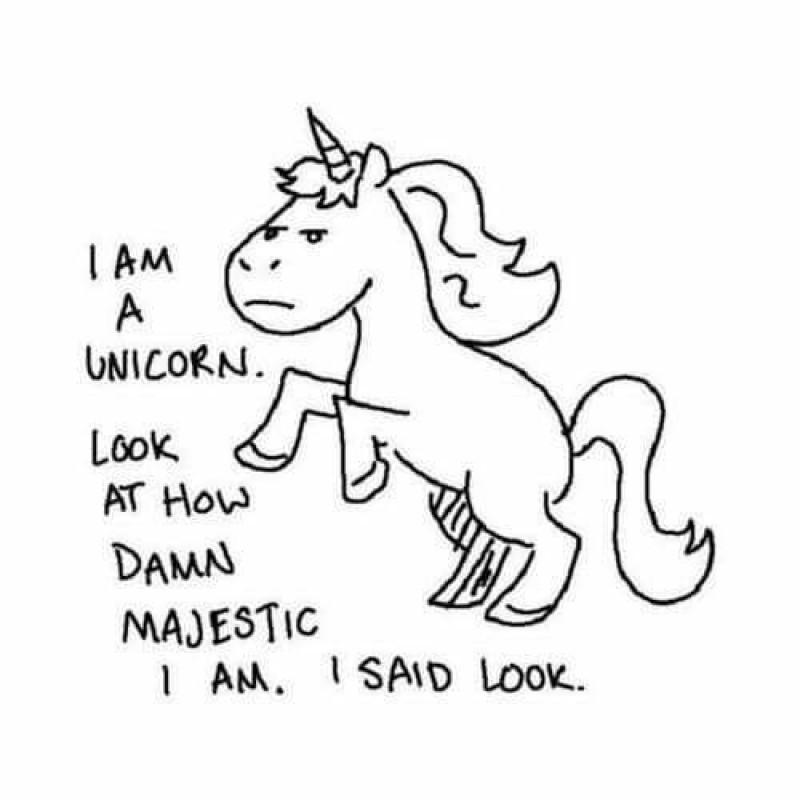 Dating scale unicorn